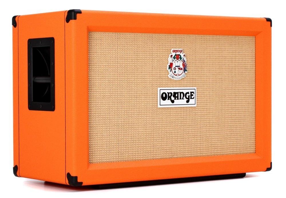 medium resolution of orange ppc212 120 watt 2x12 cabinet orange image 1
