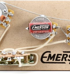 emerson custom 5 way prewired kit for fender stratocasters 250k pots [ 1800 x 1091 Pixel ]