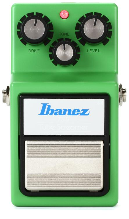 Ibanez TS9 Tube Screamer Overdrive Pedal Sweetwater