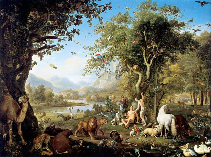 Adam And Eve In The Garden Of Eden Bible Story Verses Summary