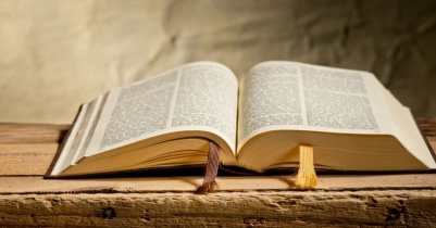 A photograph of a bible.