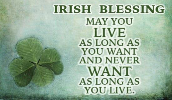 Irish Blessings For Weddings