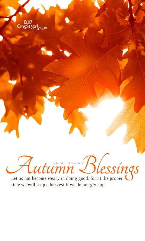 Free Fall Wallpaper For Iphone 6 Oct 2012 Autumn Blessings Desktop Calendar Free October