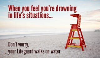 Fall Scripture Wallpaper When You Feel Like You Re Drowning Ecard Free Facebook
