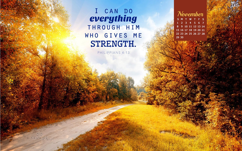 Philippians 4 13 Iphone Wallpaper November 2015 Philippians 4 13 Desktop Calendar Free