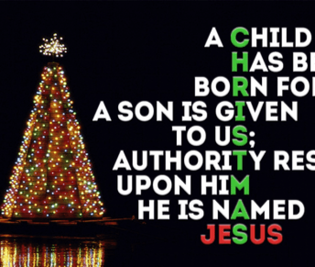 Jesus Is What Christmas Is All About