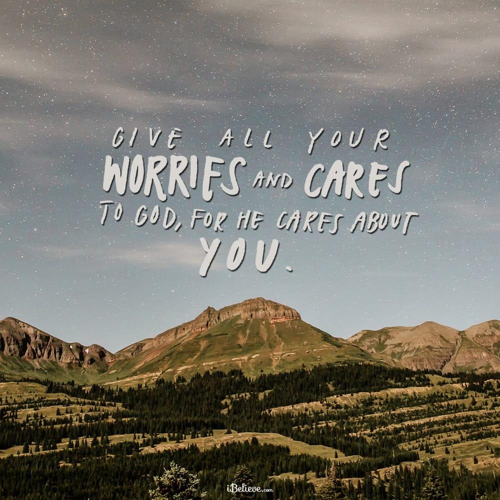 Image result for worries in god's hands