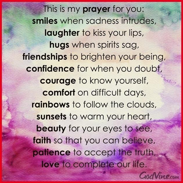 7 encouraging prayers for