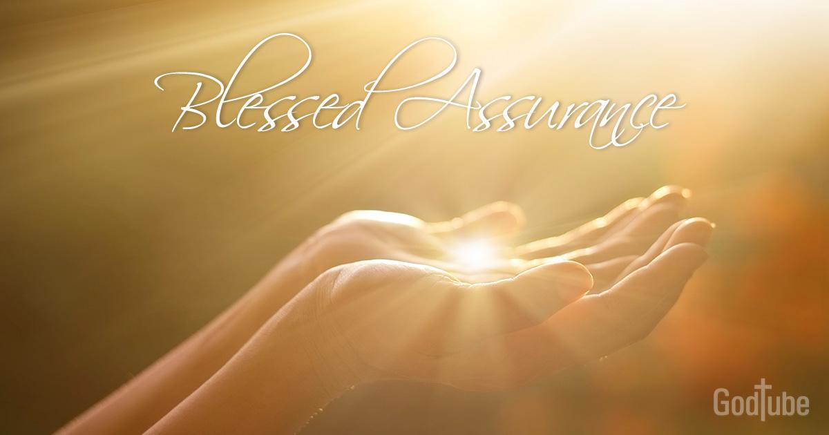 blessed assurance lyrics hymn