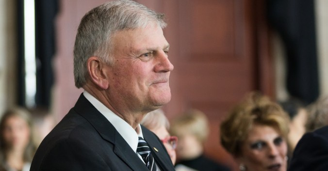 Franklin Graham Says the Gospel 'Is What Is Really Being Banned' in Britain
