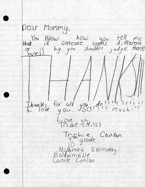 Mother's Day letters: Thanks for teaching me that, Mom
