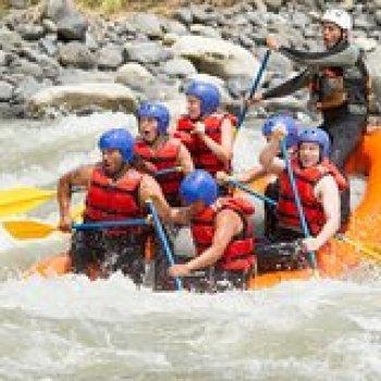 West Yellowstone Montana Half Day White-Water Raft Trip on the Yellowstone River 15799P1