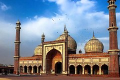 Walk to Temple and Spiritual Sites of Old Delhi!!