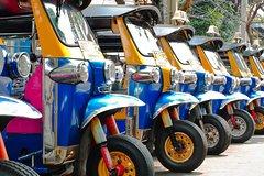 Shatabdi Train Pickup and Drop For Agra City Tour with Tuk Tuk