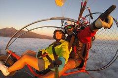 Paratrike Vuelo Panorámico 25m sobre la costa, 750mt. de altura