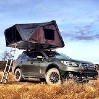 Salt Lake City Utah Yellowstone and Grand Teton - 5 Day Subaru Outback Rooftop Camping Tour 87779P5