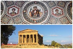 Private Tour to Piazza Armerina and Agrigento - with Local Guide