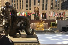 Basking Atop Of The Rock - The Rockefeller Center 5th Avenue Experience.