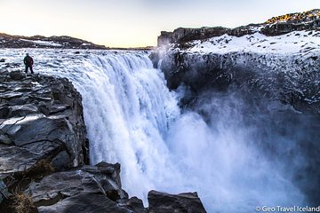 Dettifoss Waterfall - Europes most powerful waterfall