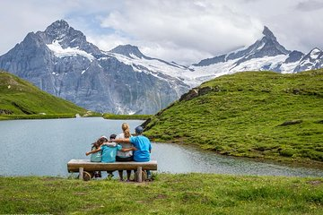 Grindelwald Adventure Tour with Cliff walk & Bachalpsee hiking tour from Lucerne