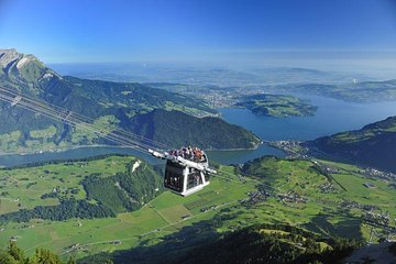 Day Trip to Lucerne and Mount Stanserhorn Including CabriO Cable Car Ride