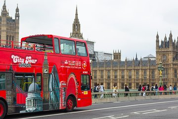 London City Tour Hop On - Hop Off with Free Walking Tour and River Cruise