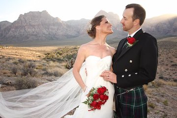 Red Rock Canyon Wedding by Private Limousine