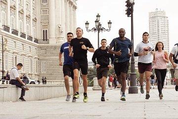 Private running tour of Madrid - Sol, Palacio, Plaza Mayor, Retiro and more