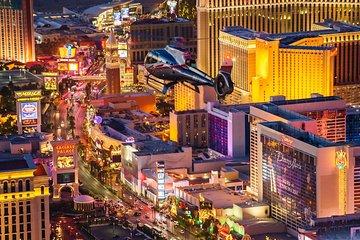 Las Vegas Strip Helicopter Night Flight with Optional Transportation