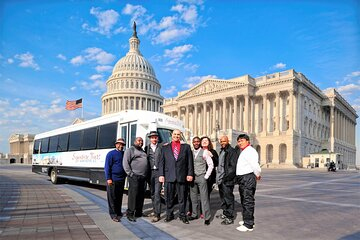 3-Hour Private Guided Sightseeing Tour of Washington DC with Transportation