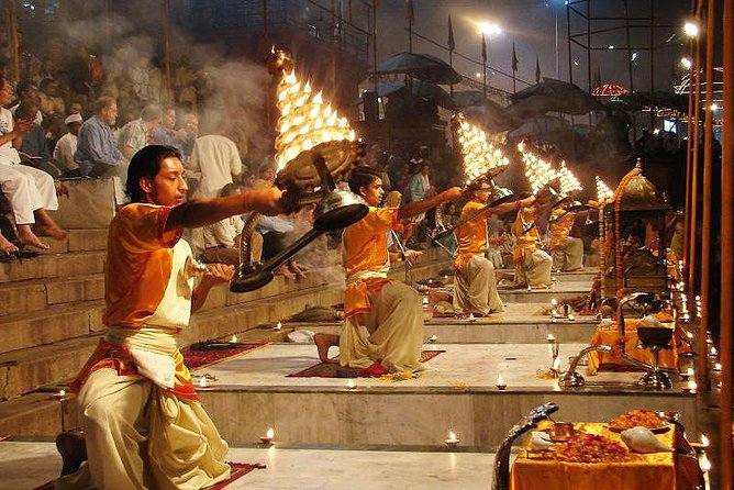 the famous aarti ceremony