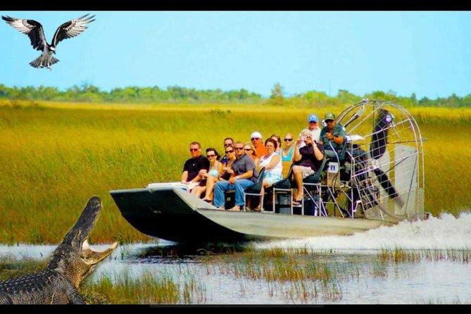 Aventura en hidrodeslizador por los Everglades de Miami   2020 ...