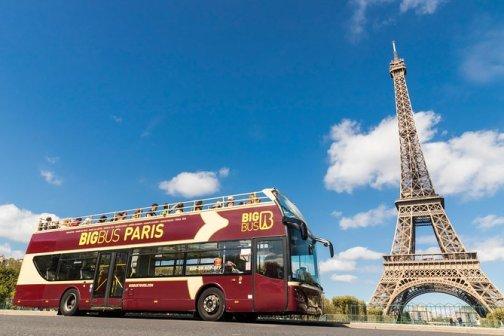 Image result for paris tour bus
