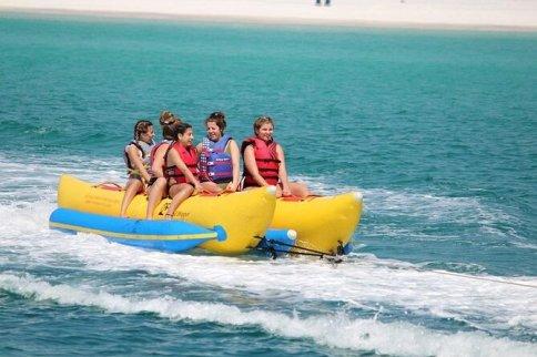 Small-Group Banana Boat Ride at Miramar Beach Destin 2021