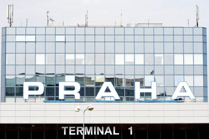 Terminal 1 at Vaclav Havel Airport in Prague.