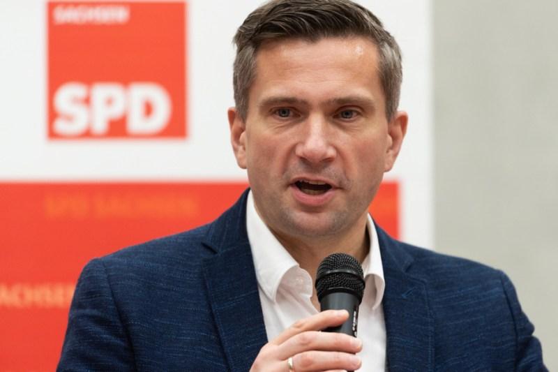 Saxony's Minister of Economic Affairs Martin Dulig (46).