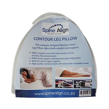 contour leg pillow memory foam