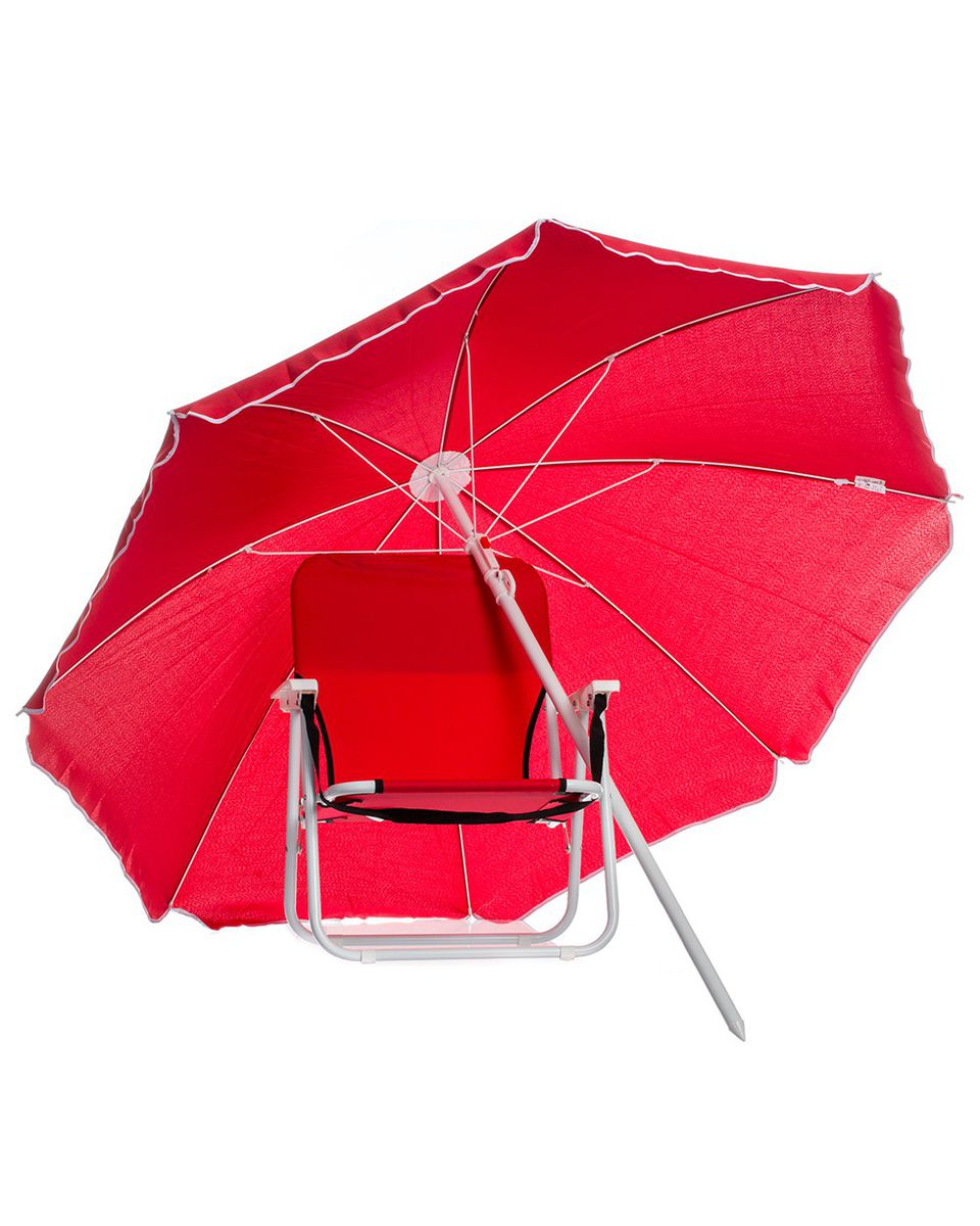 chair covers in cape town victorian dining chairs eco earth beach and umbrella combo set - red | buy online south africa takealot.com