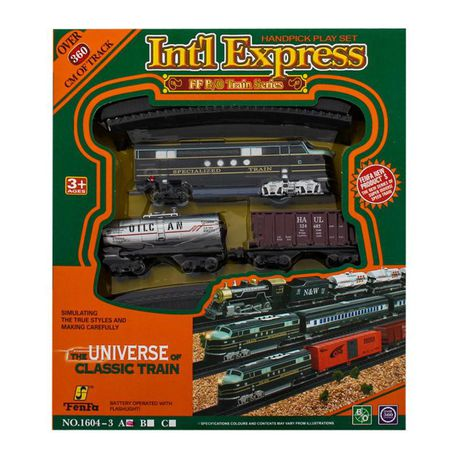 Classic Train Set - Battery Operated