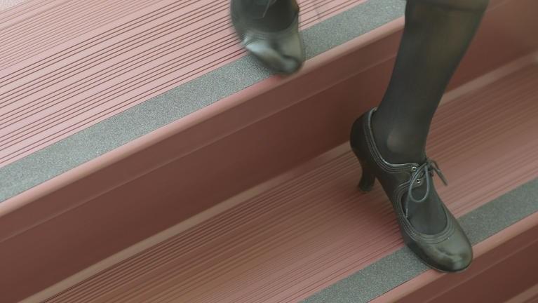 Stair Treads Risers Tarkett | Wood Look Vinyl Stair Treads | Ceramic Tile | Shaw Floorte | Laminate Flooring | Roppe | Stair Makeover