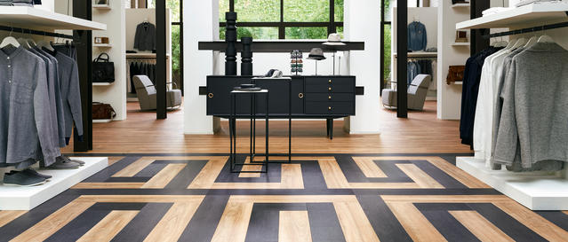 store and shop floors retail and