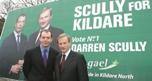 Darren Scully with Enda Kenny