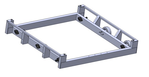 small resolution of in addition we designed the drive train gearbox in cad with 2 cim motors per side in a 2 stage reduction with a dog shifter and pancake piston to have 2