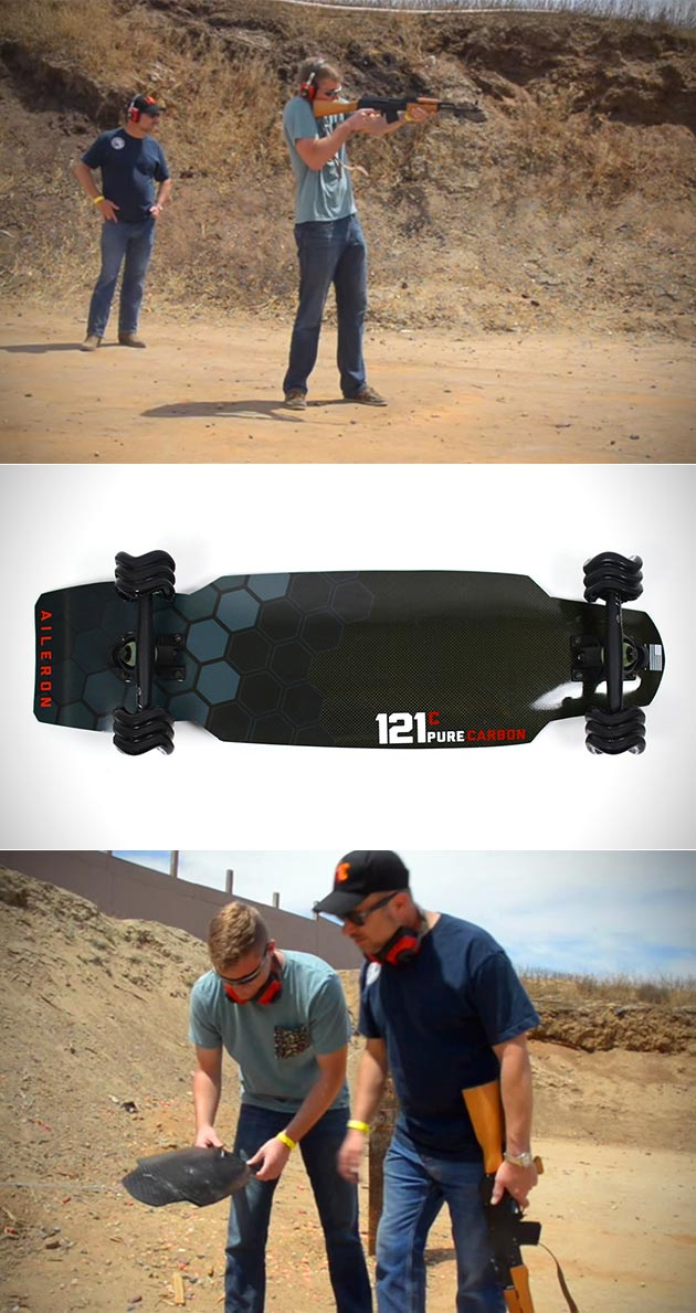 121c aileron skateboard is