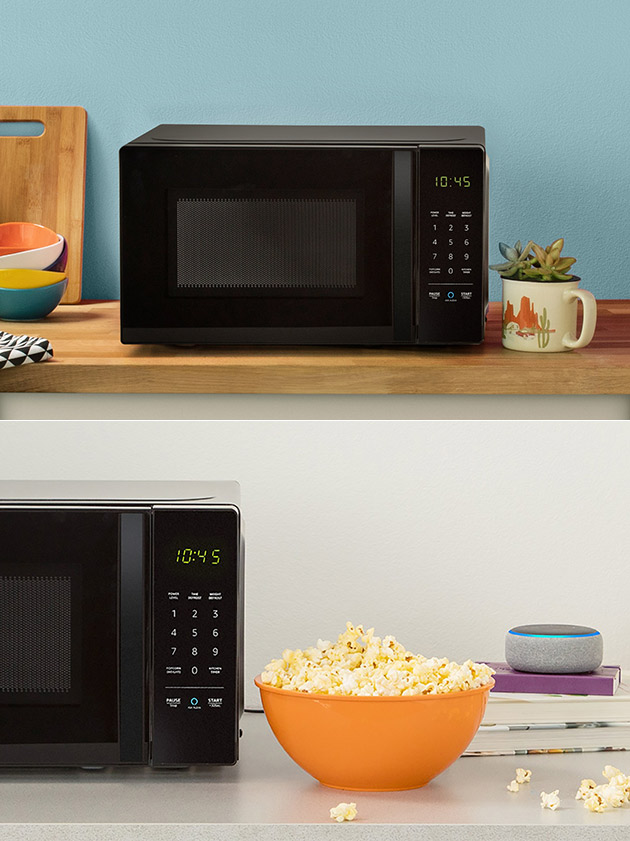 amazonbasics microwave is alexa enabled