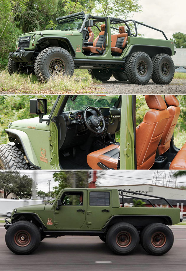 Jeep Wrangler Diesel Conversion Kits : wrangler, diesel, conversion, Jeep:, Wrangler, Conversion
