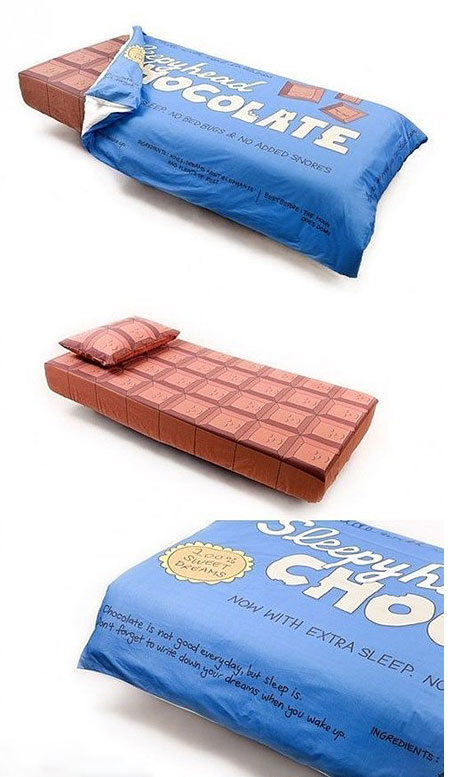 Chocolate Bar Bed