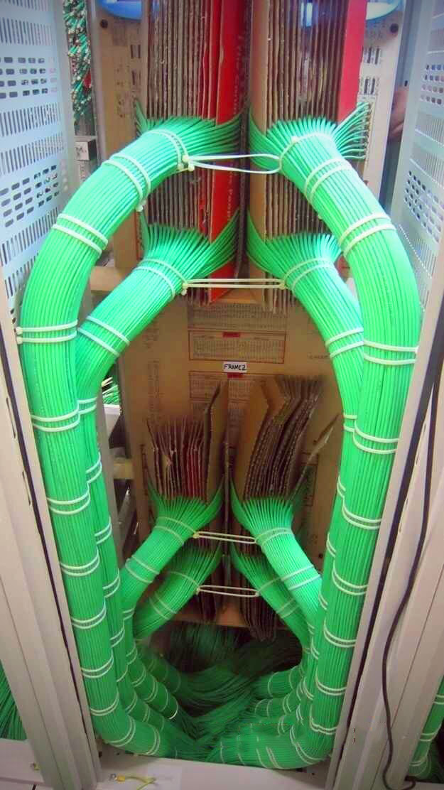 Perfect Computer Server Cabling and 18 More Oddly