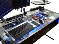 Futuristic Desk with Built-in Computer - TechEBlog