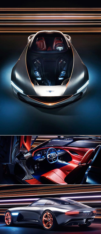 Futuristic Genesis Essentia Electric Supercar Concept Revealed Has